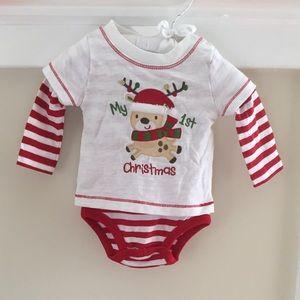 Koala Baby My 1st Christmas Bodysuit NWOT